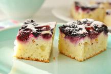ciasto kefirowe z owocami