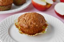 muffinki z jabłkami i serkiem homogenizowanym