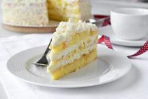 Prosty tort śmietankowy