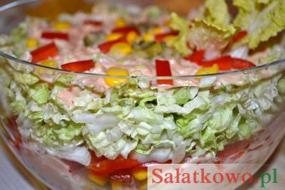 Salatka Gyros Przepis